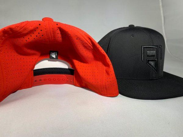red back black front